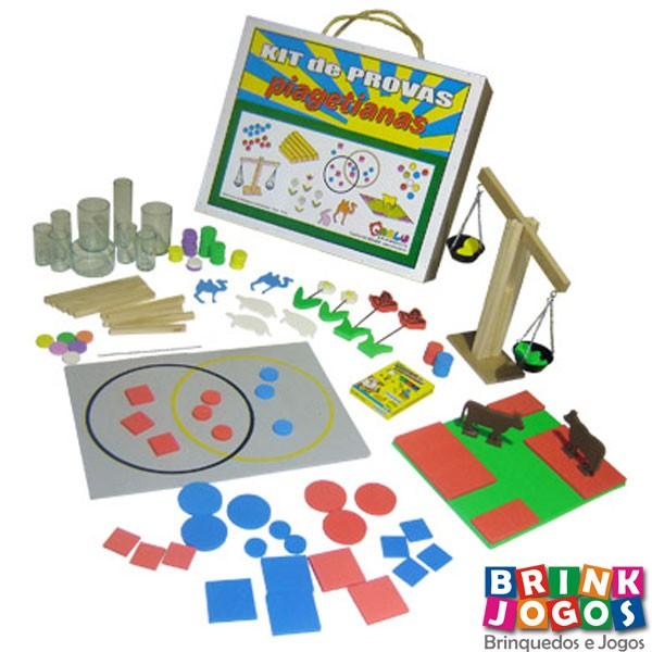 19af200fad4 brinquedos educativos  kit de provas piagetianas