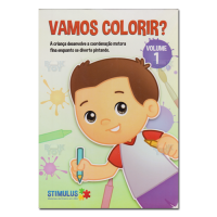 Vamos Colorir Volume 01
