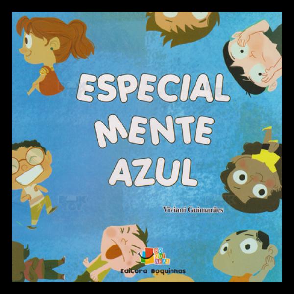 Capa do livro Especial Mente Azul